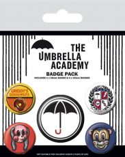The Umbrella Academy Pin Placky 5-Pack Super