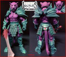 Mythic Legions: Wasteland Akční Figurka Purrrplor 15 cm