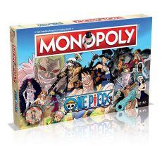 One Piece Board Game Monopoly Anglická Verze