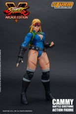 Street Fighter V Arcade Edition Akční Figure 1/12 Cammy Battle Kostým 15 cm