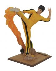 Bruce Lee Gallery PVC Soška Kicking 25 cm