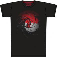 Deadpool Tričko Gun Barrel Pose Velikost L