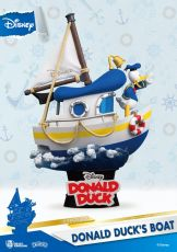 Disney Summer Series D-Stage PVC Diorama Donald Duck's Boat 15 cm
