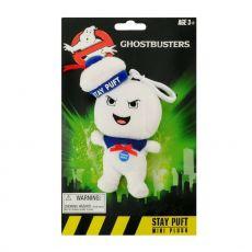 Ghostbusters Talking Plyšák Keychain Stay-Puft Marshmallow Man Angry 10 cm Anglická Verze