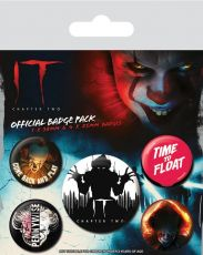 It Chapter Two Pin Placky 5-Pack Clown