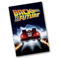Back to the Future Bath Ručník Delorean Time Machine 91 x 61 cm