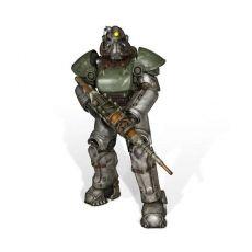 Fallout 4 Životní Velikost Soška T-51b Power Armor 213 cm