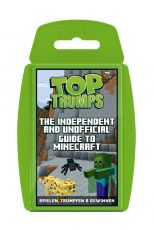 Independent & Unofficial Guide to Minecraft Card Game Top Trumps Německá Verze