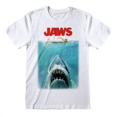 Jaws Tričko Plakát Velikost M