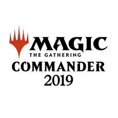 Magic the Gathering Commander 2019 Decks Case (4) italian