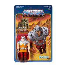 Masters of the Universe ReAction Akční Figure Ram Man (Mini Comic) 10 cm