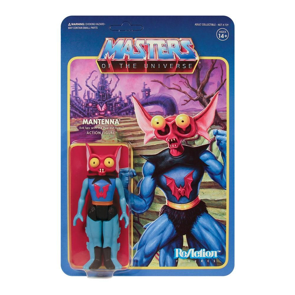Masters of the Universe ReAction Akční Figure Wave 5 Mantenna 10 cm Super7