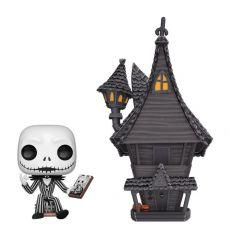 Nightmare before Christmas POP! Town vinylová Figure Jack & Jack's House 9 cm
