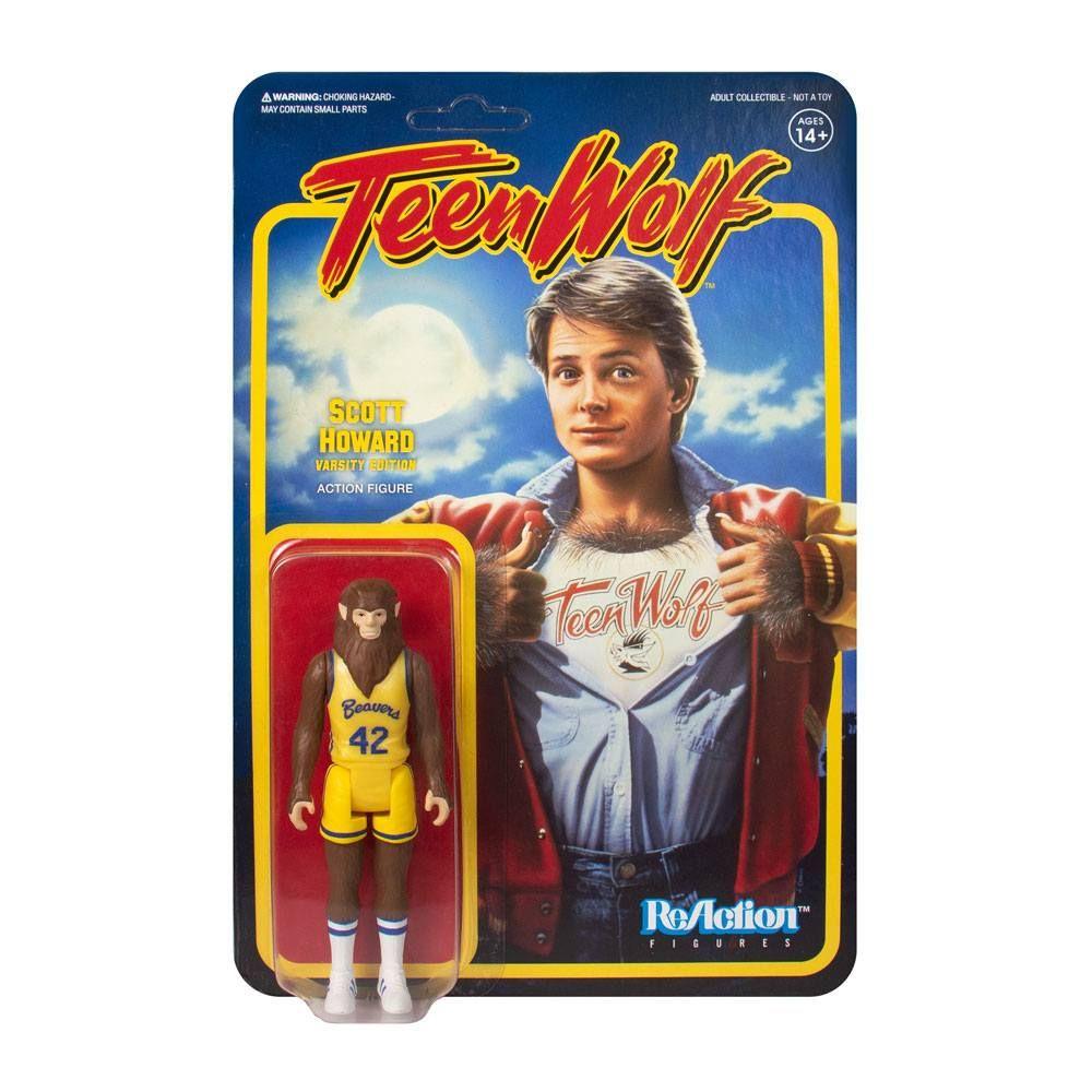 Teen Wolf ReAction Akční Figure Teen Wolf Basketball 10 cm Super7