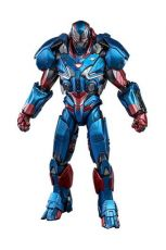 Avengers: Endgame Movie Masterpiece Series Kov. Akční Figure 1/6 Iron Patriot 32 cm