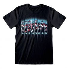 Avengers Endgame Tričko Lineup Velikost M