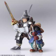 Final Fantasy IX Bring Arts Akční Figures Vivi Ornitier & Adelbert Steiner 10 - 15 cm