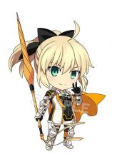 Good Smile Racing & Type-Moon Racing Nendoroid PVC Akční Figure Altria Pendragon: Racing Ver. 10 cm