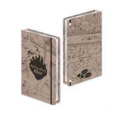 Harry Potter Premium Poznámkový Blok A5 Marauder's Map