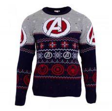Marvel Comics Mikina Christmas Jumper Avengers Assemble Velikost XL