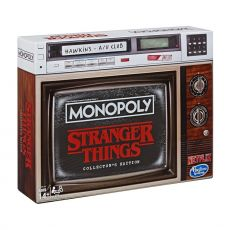 Stranger Things Board Game Monopoly Collectors Edition Anglická Verze