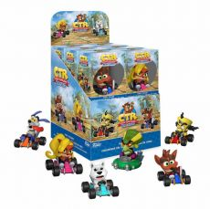 Crash Bandicoot Mini vinylová Figures 6 cm Display (12)