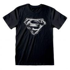 DC Superman Tričko Distressed Mono Logo Velikost XL