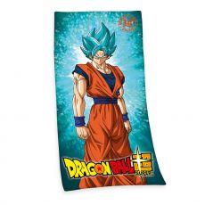 Dragon Ball Super Ručník Super Saiyan God Super Saiyan Son Goku 150 x 75 cm