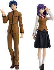 Fate/Stay Night Heaven's Feel Figma Akční Figure 2-Pack Shinji Matou & Sakura Matou 14 - 15 cm