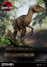 Jurassic Park Soška 1/6 Velociraptor Closed Mouth Ver. 41 cm
