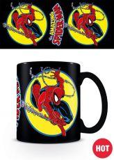 Marvel Comics Heat Měnící Hrnek Spider-Man Iconic Issue