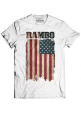 Rambo Tričko Flag Velikost M