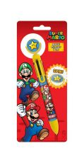 Super Mario Multicoloured Propiska Burst