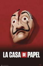Money Heist Plakát Mask 61 x 91,5 cm
