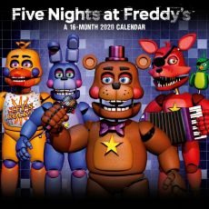 Five Nights At Freddy's Kalendář 2020 English Verze