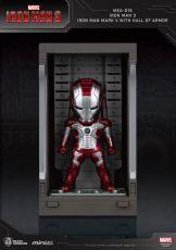 Iron Man 3 Mini Egg Attack Akční Figure Hall of Armor Iron Man Mark V 8 cm