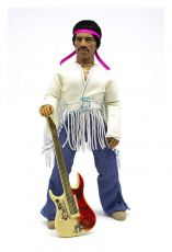 Jimi Hendrix Akční Figure Woodstock Flocked 20 cm
