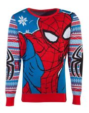 Marvel Knitted Christmas Mikina Spider-Man Velikost S