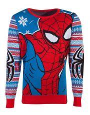 Marvel Knitted Christmas Mikina Spider-Man Velikost L
