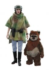 Star Wars Episode VI Movie Masterpiece Akční Figure 2-Pack 1/6 Princess Leia & Wicket 15-27 cm