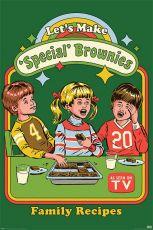 Steven Rhodes Plakát Pack Let's Make Special Brownies 61 x 91 cm (5)
