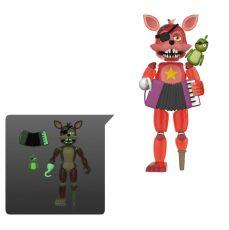 Five Nights at Freddy's Pizza Simulator Akční Figure Rockstar Foxy (Translucent) 13 cm