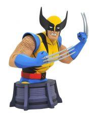 Marvel X-Men Animated Series Bysta Wolverine 15 cm
