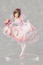 The Idolmaster Popelka Girls PVC Soška 1/7 Miku Maekawa Dreaming Bride Ver. Limited 24 cm