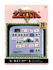 The Legend of Zelda Fridge Magnets Retro