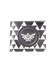 The Legend of Zelda Peněženka Triforce Black & White