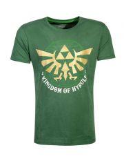 The Legend of Zelda Tričko Golden Hyrule Velikost S