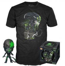 Alien POP! & Tee Box 40th Xenomorph heo Exclusive Velikost M