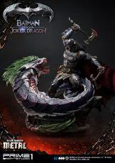 Dark Nights: Metal Soška Batman Versus Joker Dragon 87 cm