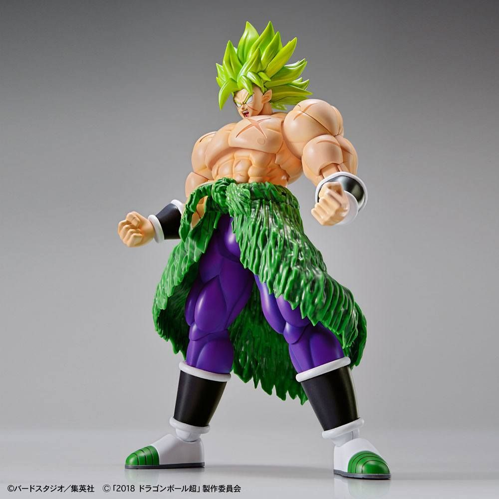 Dragonball Super Figure-rise Standard Plastic Model Kit Super Saiyan Broly Fullpower 15 cm Bandai